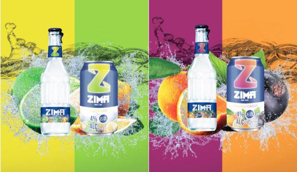 ZIMAに新フレーバー登場!「レモン&ライム」と「オレンジ&カシス」。